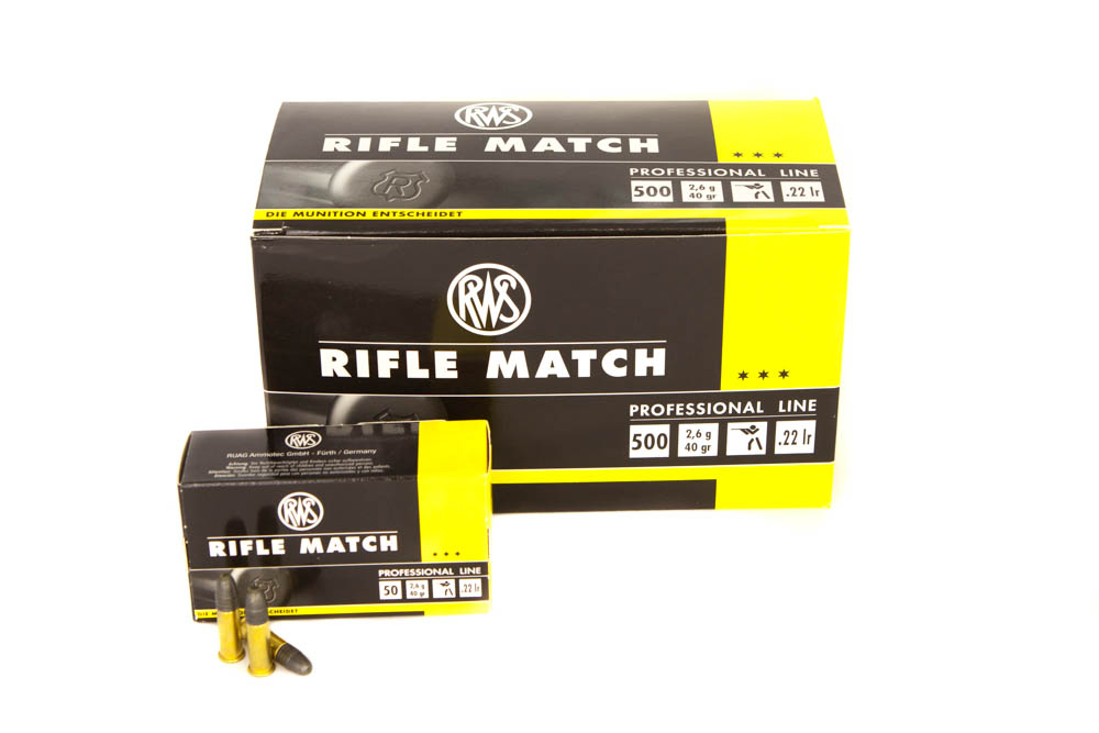 RWS .22 l.r.Rifle Match