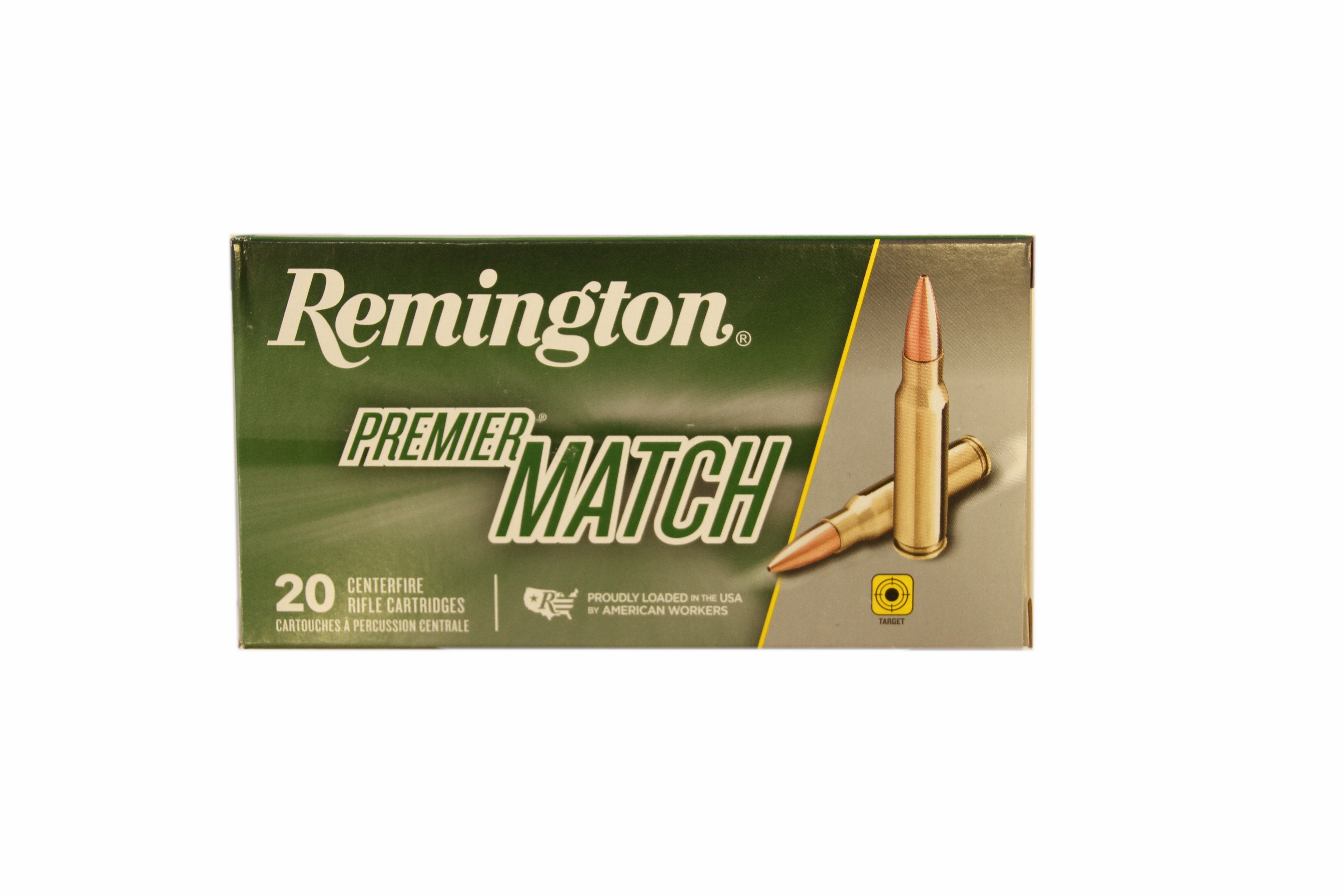Remington .308Win Premier Match 168gr