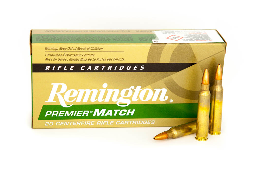 Remington .223Rem Premier Match 52grs