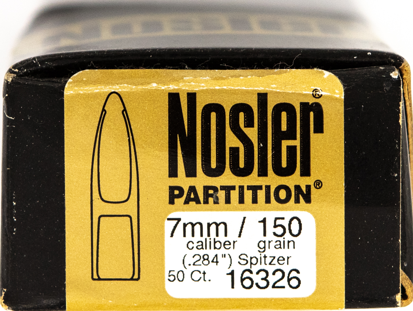 Nosler .284 150grs.Partition 7