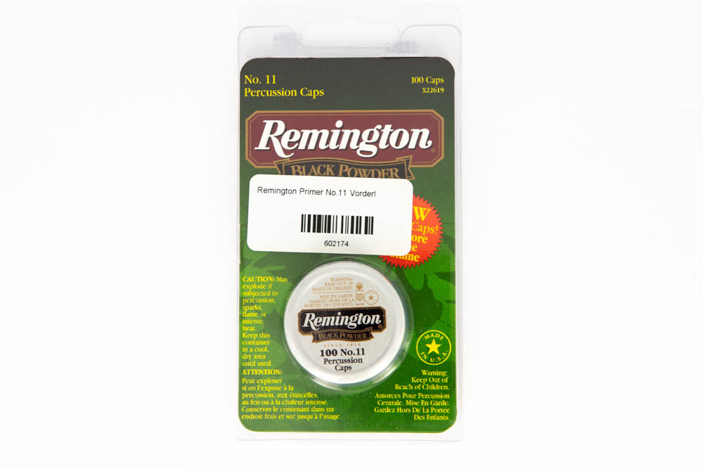 Remington Primer No.11 Vorderl