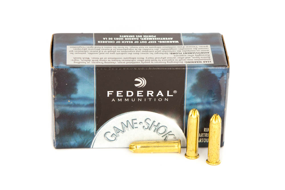 Federal Bird Shot .22 lr Fede