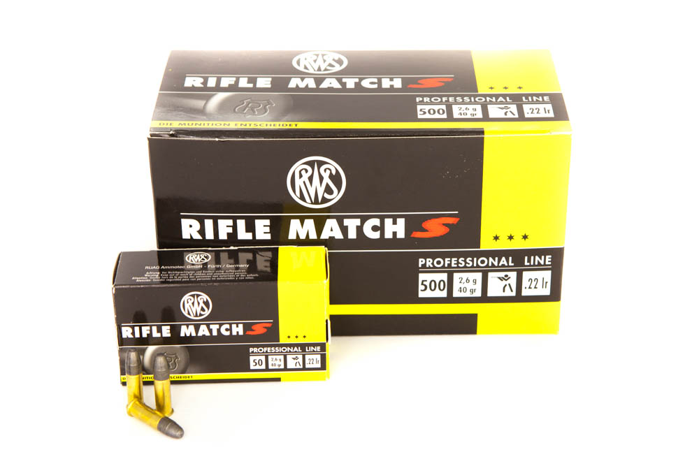 RWS .22 l.r.Rifle Match S