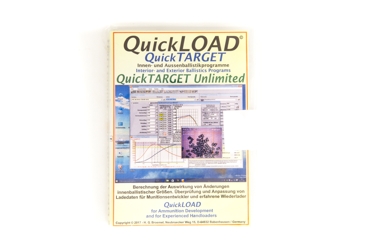 Quick Load Ballistik Software