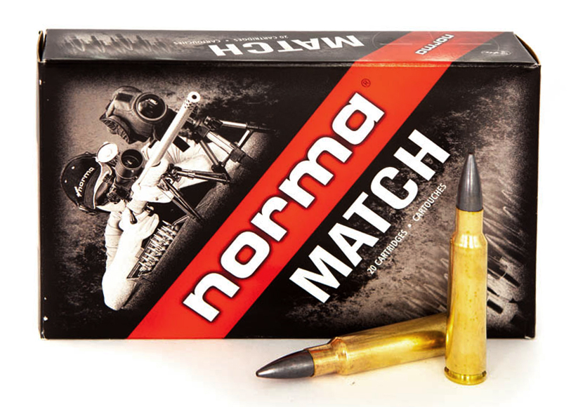 Norma 7,5x55 168grs HP Match