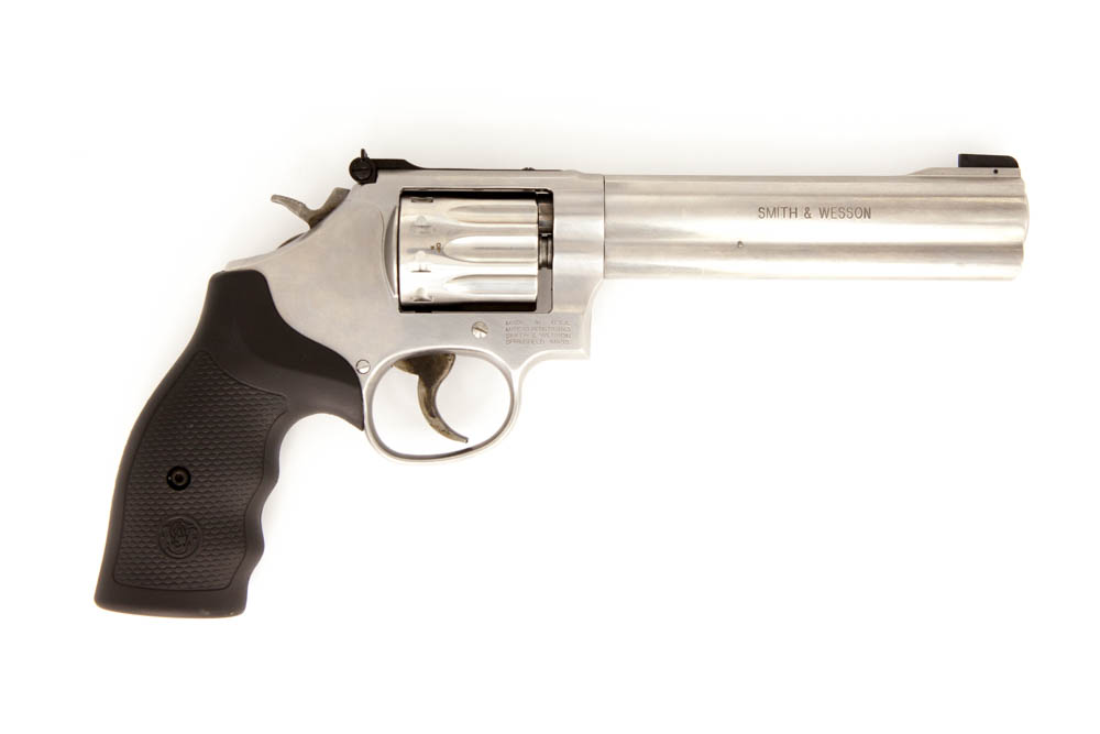 "S&W 617 6"" STS .22lr Revolver"