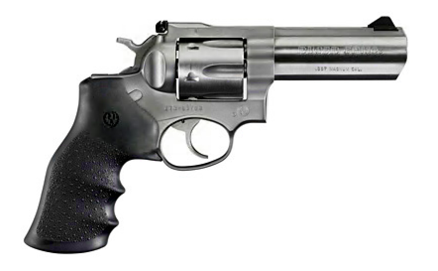 "Ruger GP141 Stainless 4"" .357M"