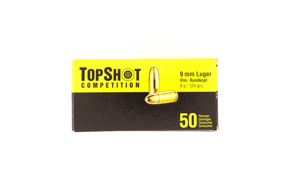 Top Shot 124grs VM 9mm Para/Lu