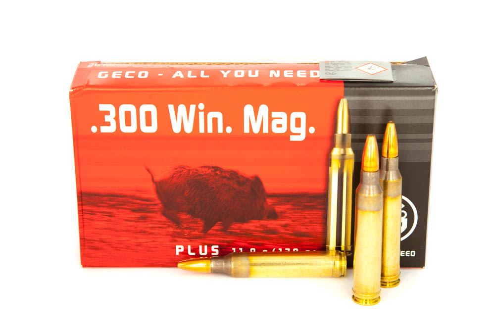 Geco PLUS 170grs TM .300 Win.