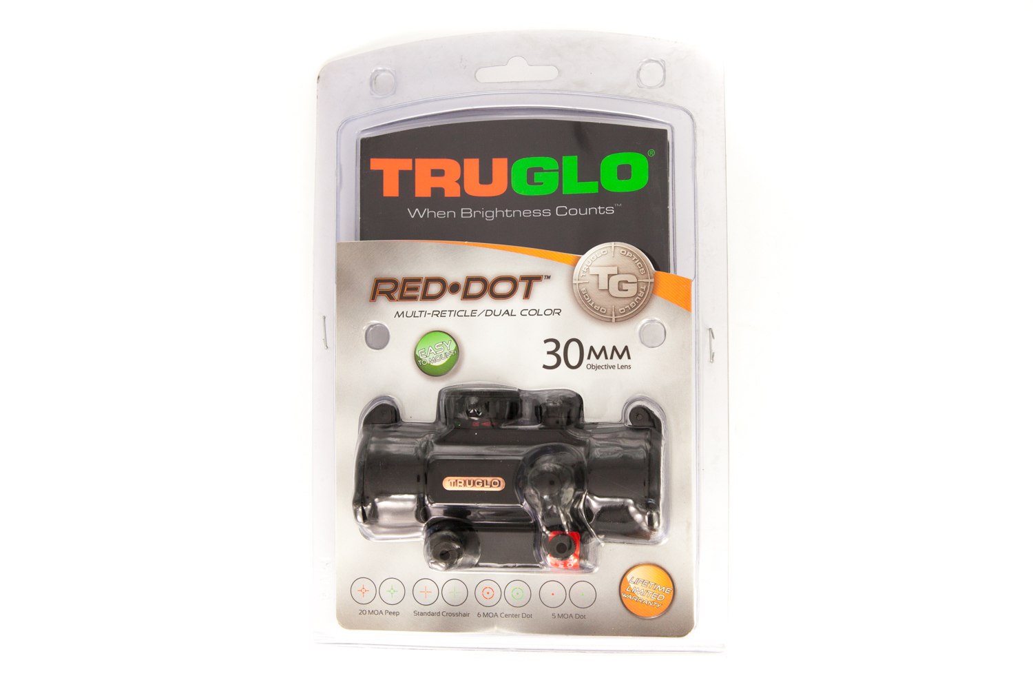 TRUGLO Red Dot 30mm Dual Color