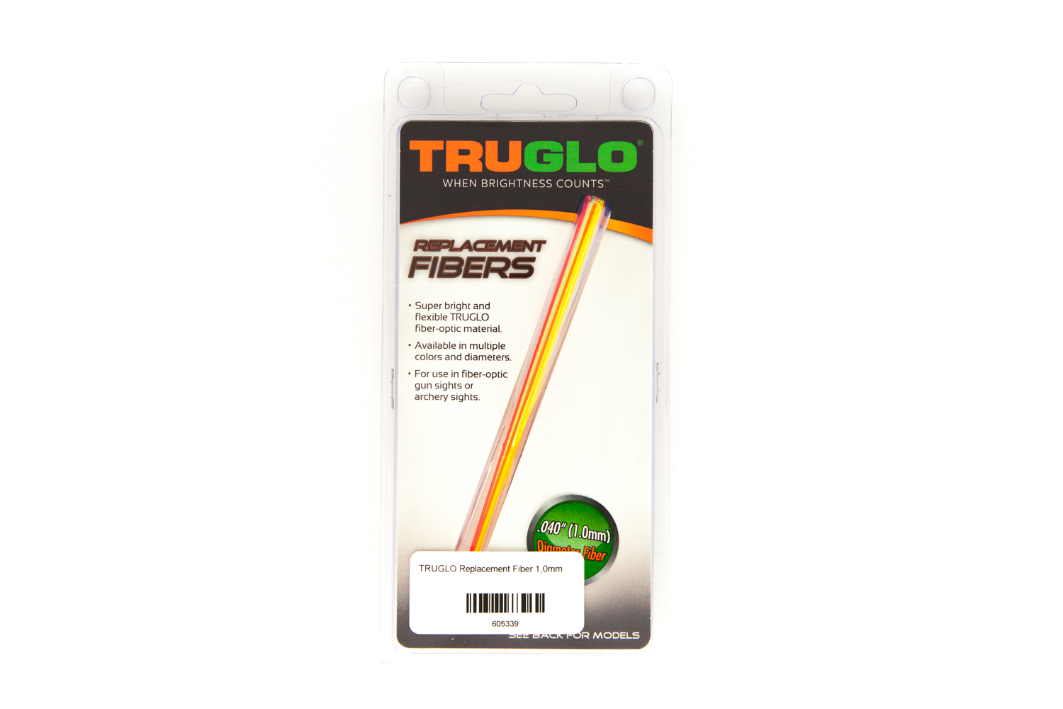 TRUGLO Replacement Fiber 1,0mm