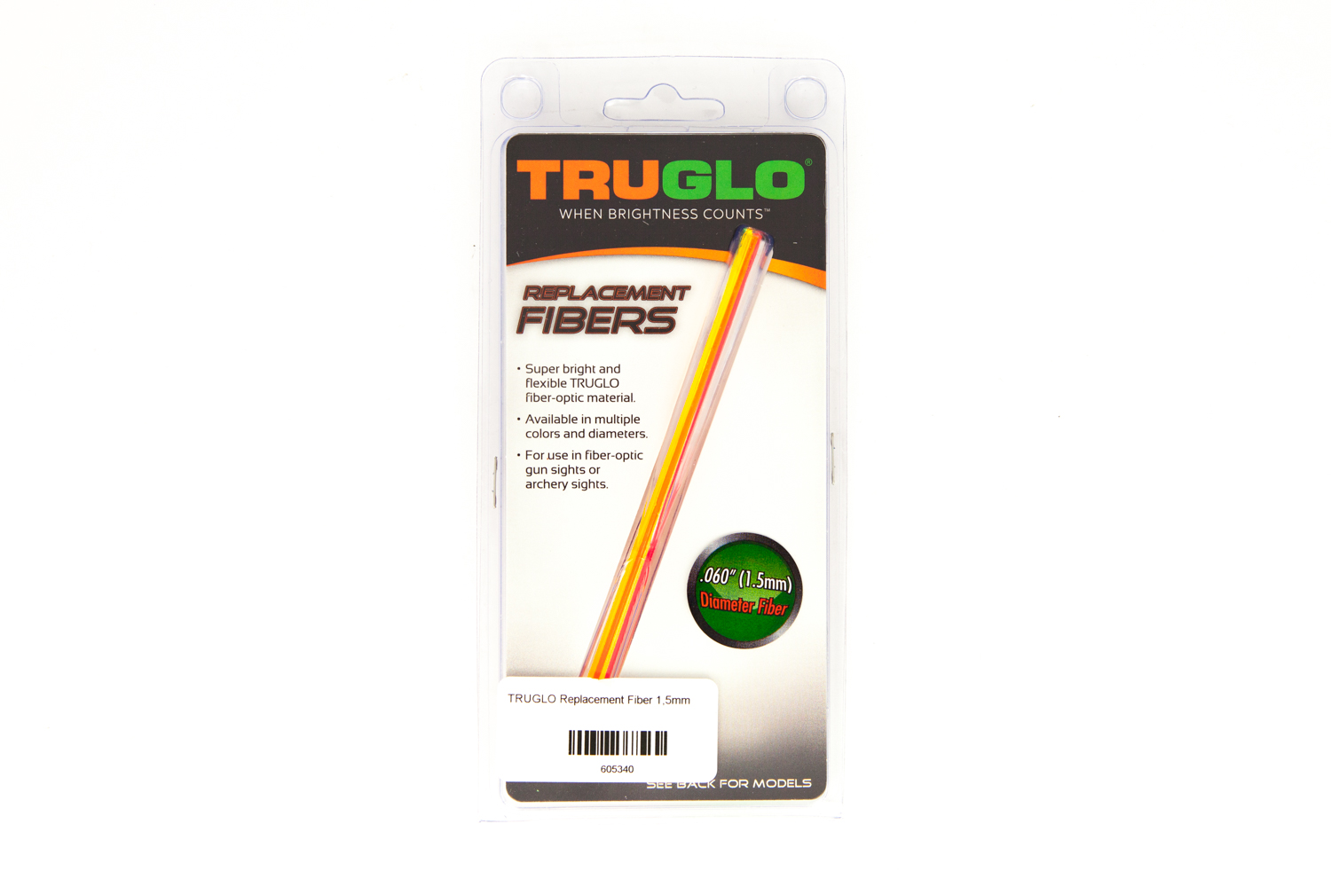TRUGLO Replacement Fiber 1,5mm