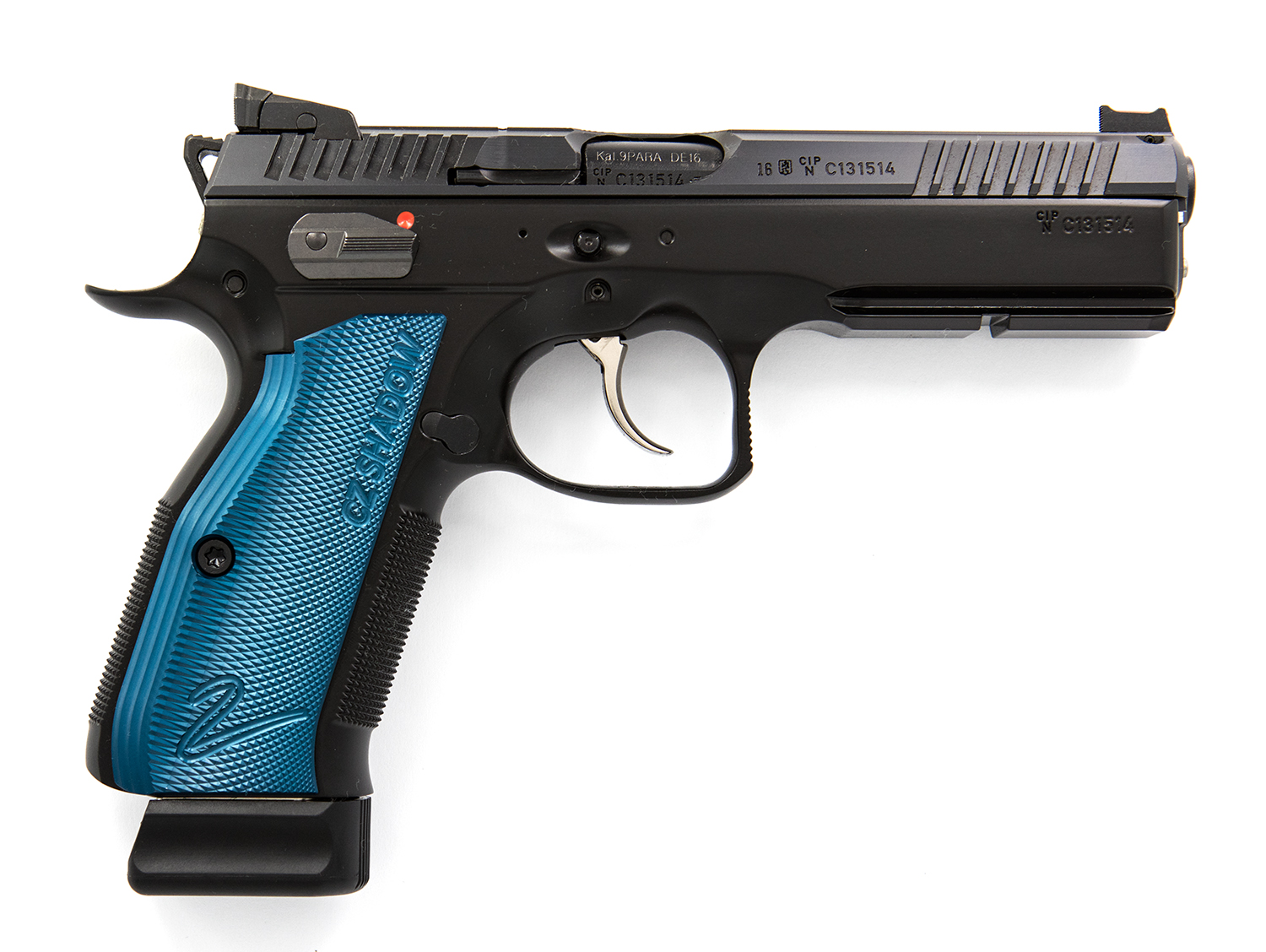 CZ Shadow 2 Blue 9mm Para/Luge