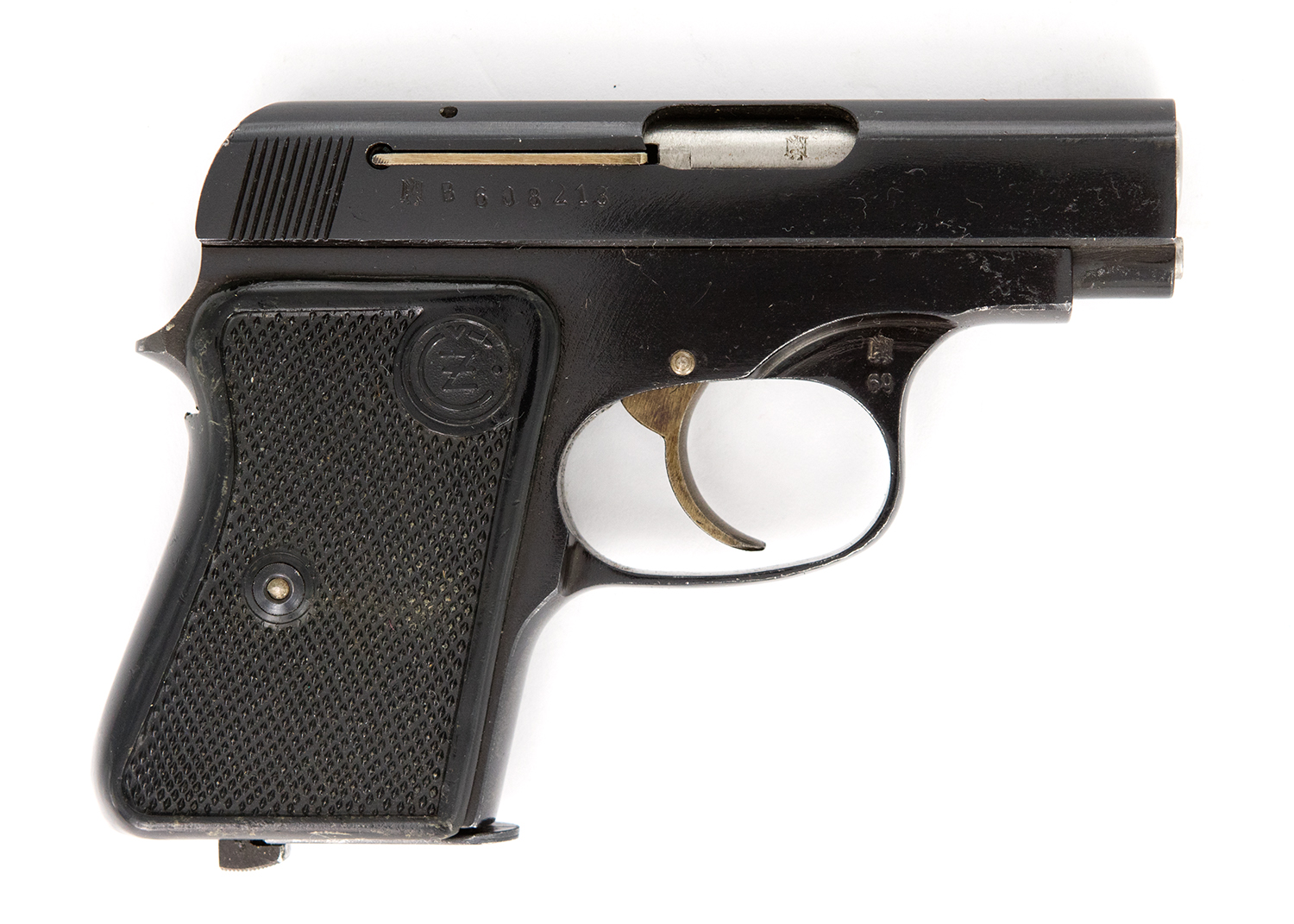 CZ 6,35mm Browning Pistole