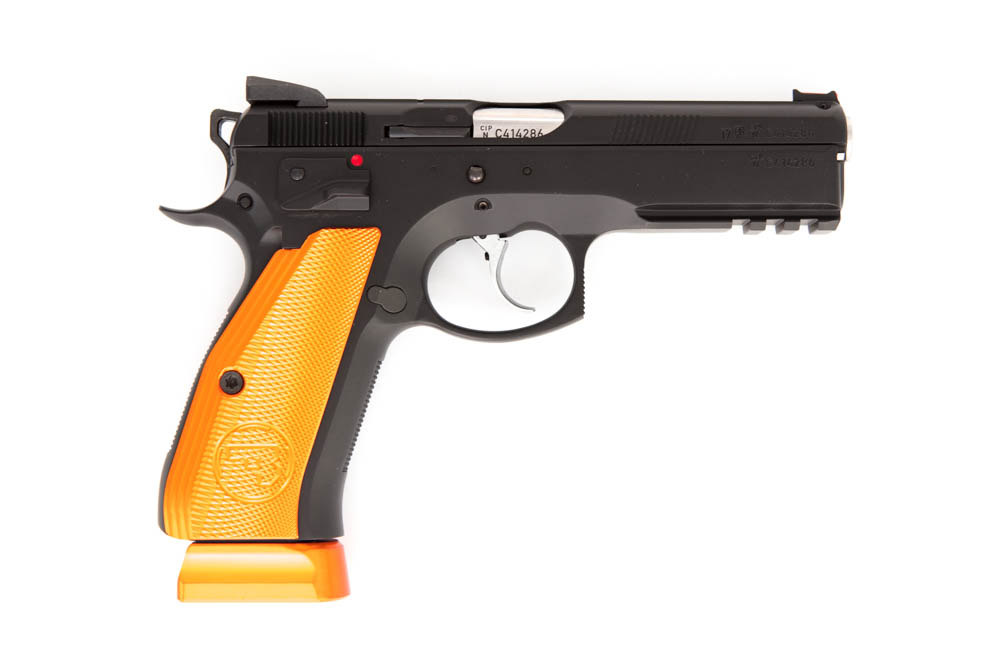 CZ SP-01 Shadow Orange 9mm Par