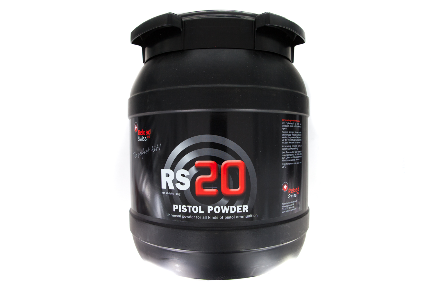 Reload Swiss RS20 4 kg Drum