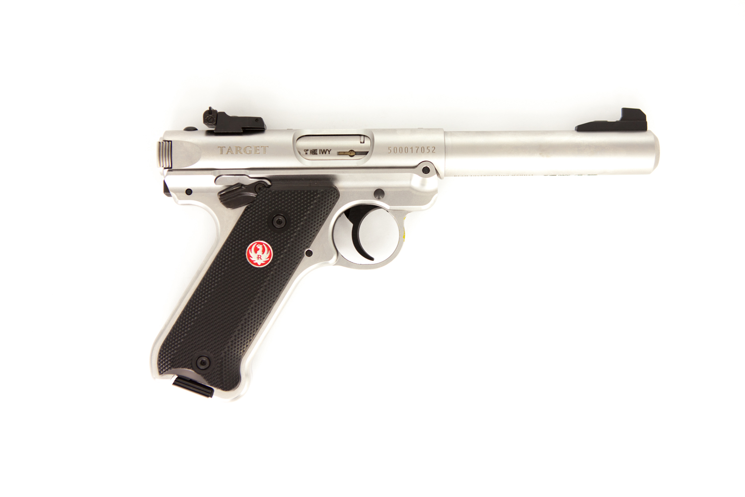 Ruger MK IV Target Stainless 5