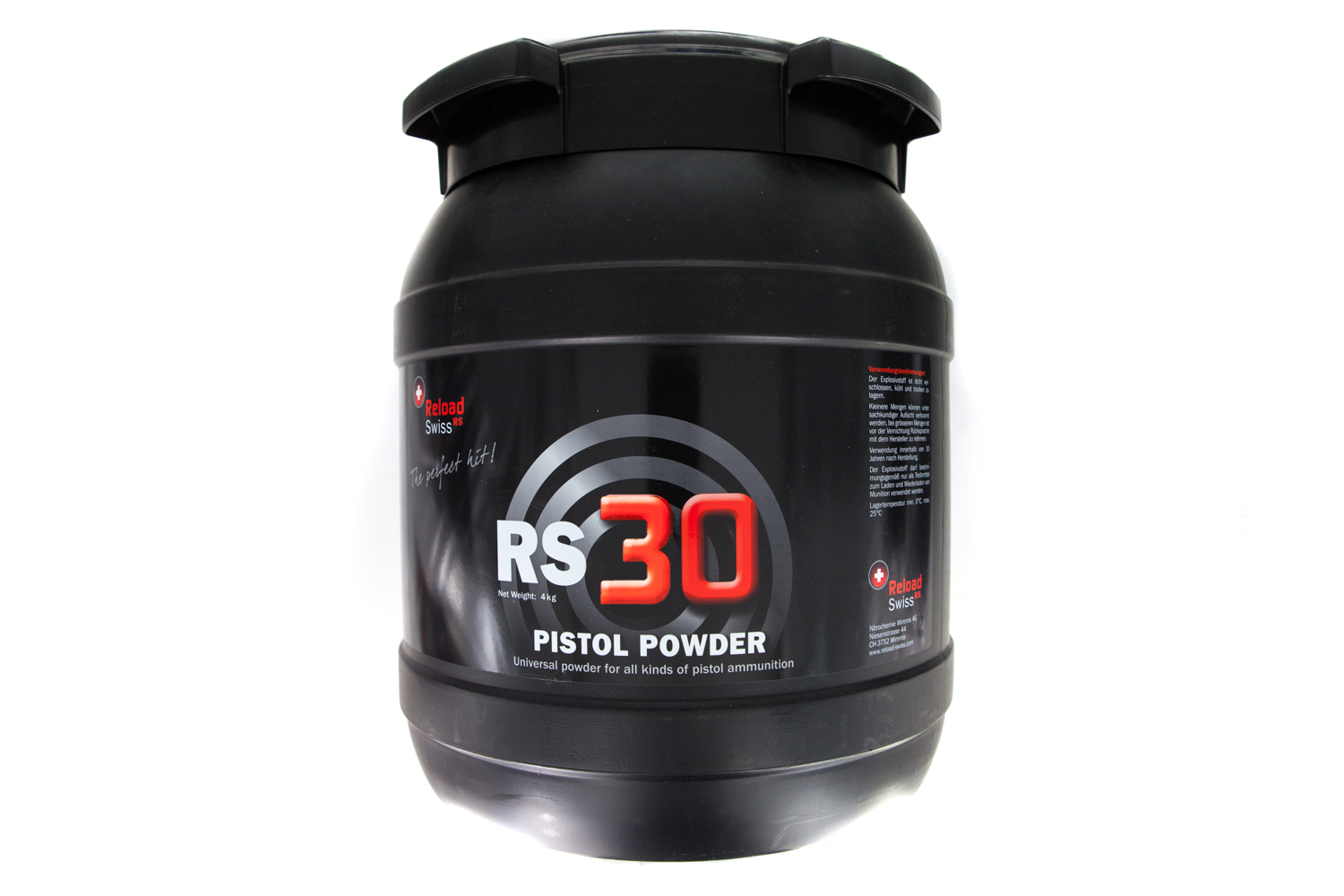 Reload Swiss RS30 4 kg Drum