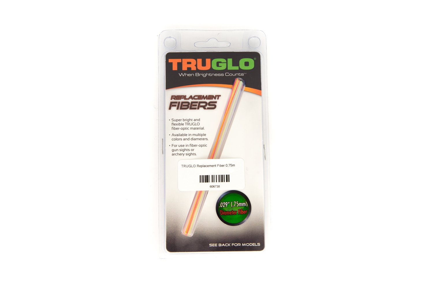 TRUGLO Replacement Fiber 0,75