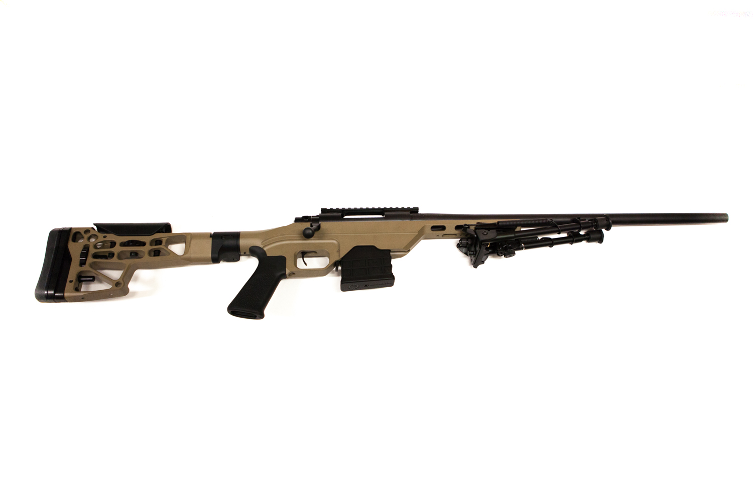 HOWA 1500 Heavy Barrel FDE MD