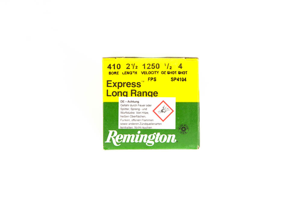 Remington 410/65 #4 .410/65