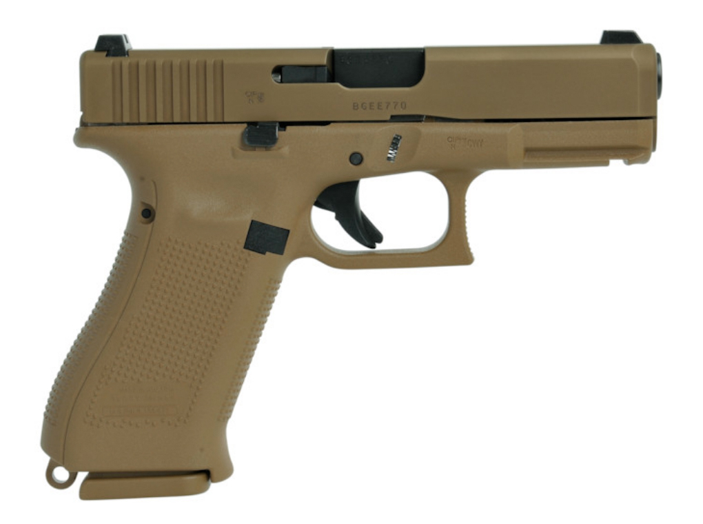 Glock 19X Gen 5 Coyote 9mm Lug