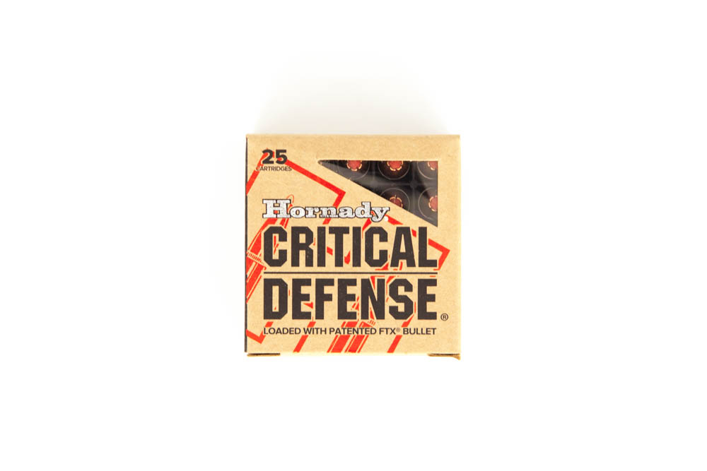 Hornady 9mm Critical Defense 1