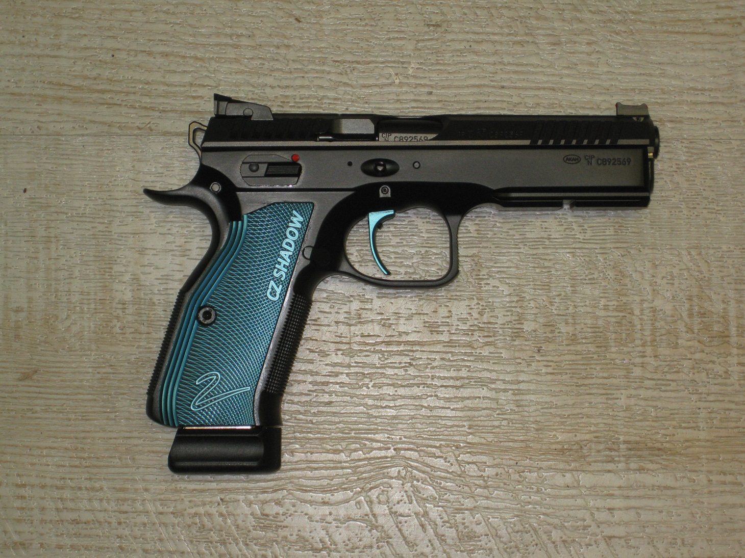 CZ Shadow 2 Blue Single Action